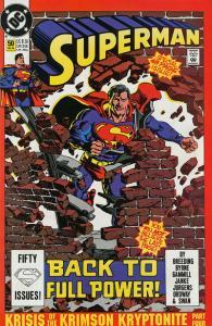 Superman (vol. 2) #50!