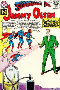 Superman's Pal Jimmy Olsen 63, September, 1962!