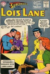 Superman's Girl Friend Lois Lane 41, May 1963!